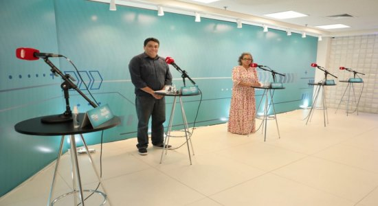 O encontro contou com as participações de Manoel da Cazanova (PSL) e de Ailza Trajano (PCdoB)