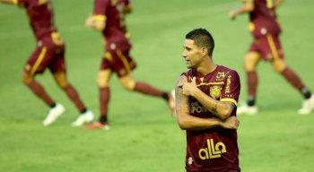 Thiago Neves marcou o gol da vitória do Sport na última rodada da Série A diante do Athletico-PR.