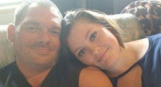 Travis Fieldgrove, de 40 anos, conheceu a filha, Samantha Kershner, quando ela tinha apenas 17 anos e, depois de três anos, eles passaram a se relacionar