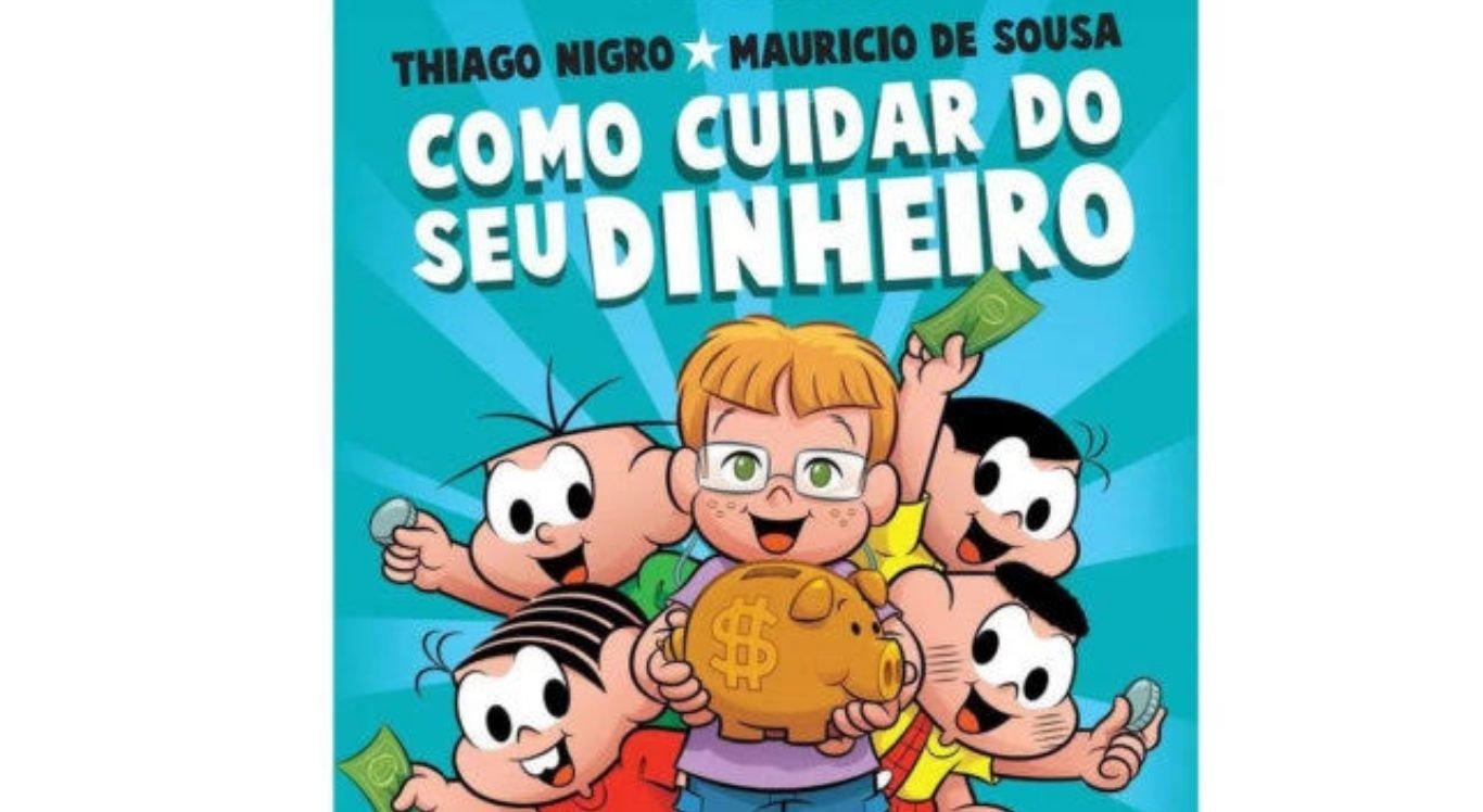 É a primeira vez que a Turma da Mônica cria um livro para tratar sobre o tema que é tão importante no universo infantil