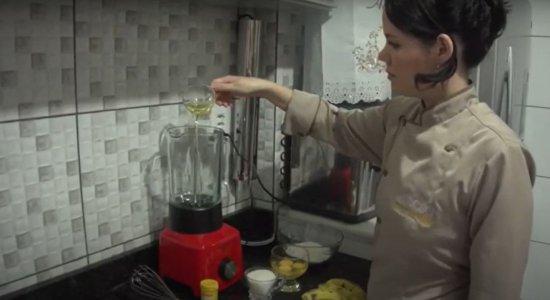 Confira como fazer receita de bolo de banana de liquidificador