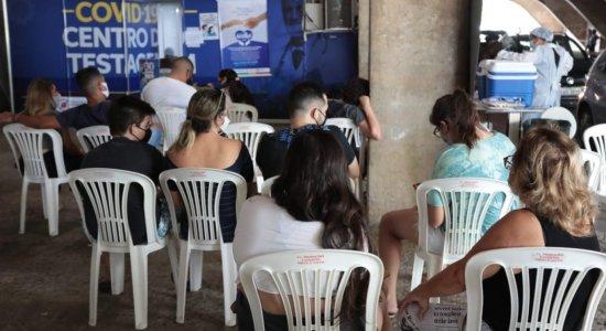 Covid-19: Pernambuco registra 826 novos casos e 19 mortes