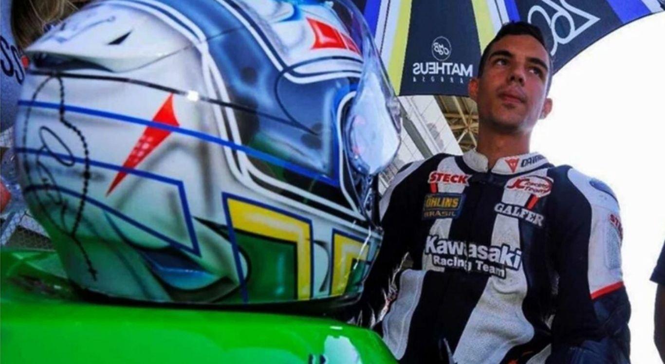 Jovem goiano perdeu o controle da moto no SuperBike Brasil