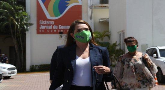 Delegada Patrícia continua a liderar rejeição no Recife, aponta pesquisa Ibope/JC/Rede Globo