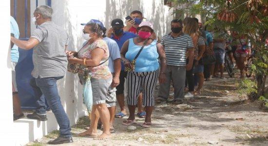 Primeiro dia de Centro de Testagem da covid-19 no Geraldão tem problemas nos atendimentos