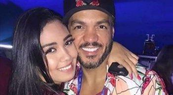 Belo e a filha Isadora Alkimin Vieira