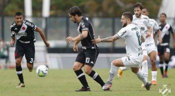 No primeiro turno do Brasileirão, Vasco venceu por 2x0 o Sport no Rio de Janeiro.