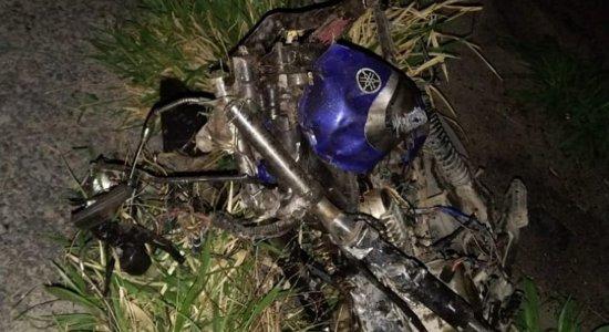Motociclista morreu após acidente