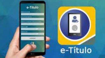 "O aplicativo e-Título pode ser baixado nas plataformas ""Google Play"" e ""App Store"""