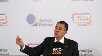 Ministro e presidente do TSE, Luís Roberto Barroso