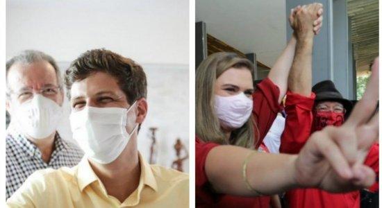 João Campos (PSB) e Marília Arraes (PT) se encontram em debates promovidos pelo SJCC