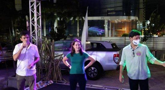 Delegada Patrícia diz que não apoiará nem PT e nem PSB no 2º turno