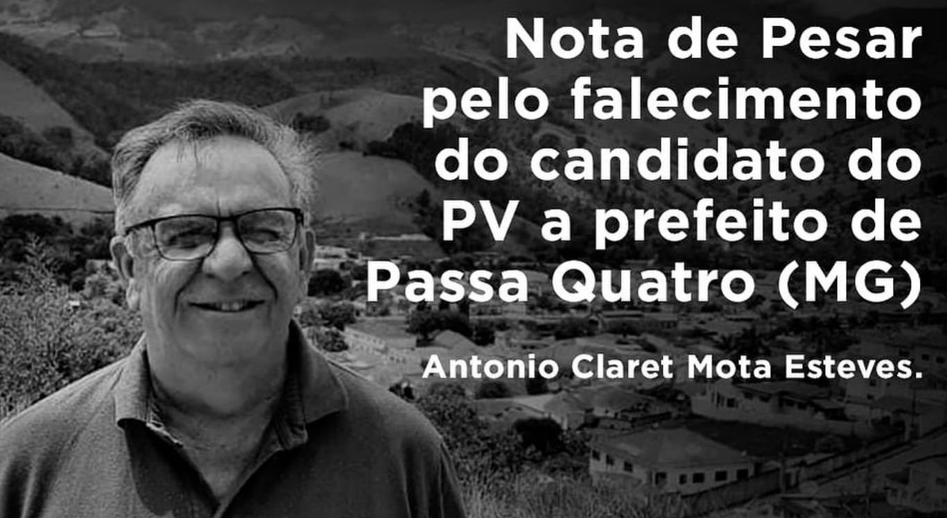 Morre candidato a prefeito de Passa Quatro (MG)