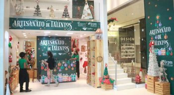 A loja funcionará até a véspera de Natal, dia 24 de dezembro, no piso L2 do RioMar Recife