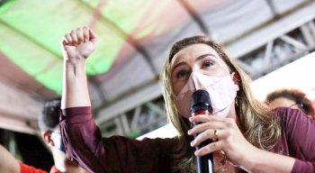 Marília Arraes (PT) obteve 27,95% dos votos