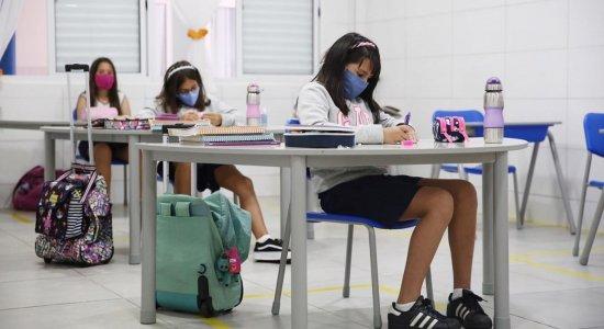 Ensino fundamental: rede particular retoma aulas presenciais no Estado