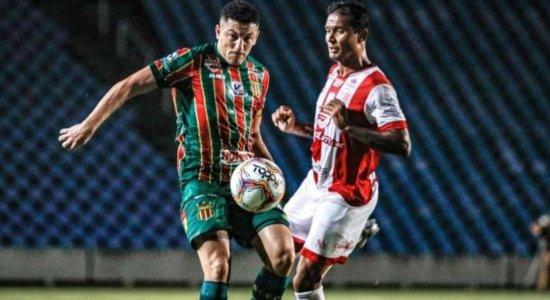 Série B: Náutico perde para o Sampaio Corrêa com gol no último minuto da partida