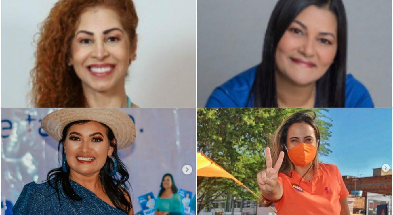 Vereadoras eleitas para a Câmara Municipal de Caruaru