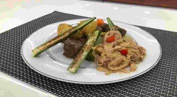 Receita de Lombinho de Carne de Sol do chef Rivandro França