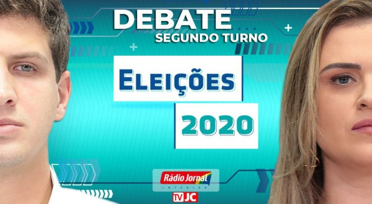 Veja ao vivo debate da TV Jornal com candidatos à Prefeitura do Recife no 2º turno