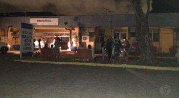 O incêndio aconteceu na noite dessa quinta-feira (19)