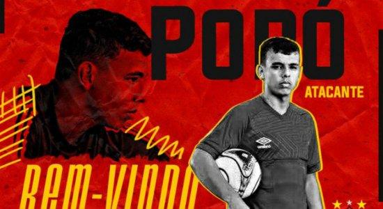 Sport anuncia contratação do atacante Vinícius Popó