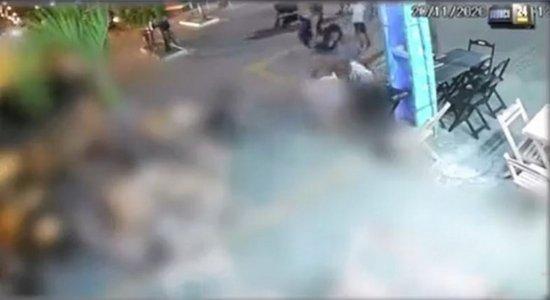 Um policial militar de Alagoas foi morto com um tiro na cabeça, em Porto de Galinhas, em Ipojuca, no Litoral Sul de Pernambuco.