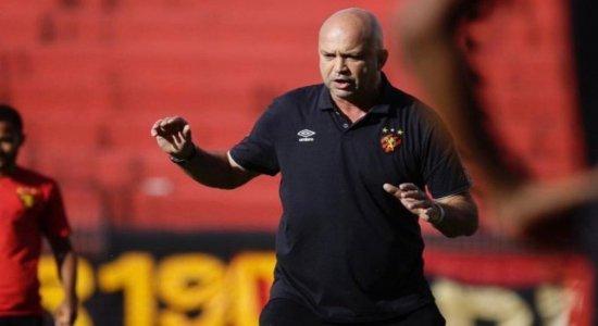 Com técnico em isolamento, preparador físico comanda Sport diante do Atlético-GO