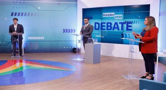 Confira como foi o debate da TV Jornal com candidatos à Prefeitura do Recife no 2º turno