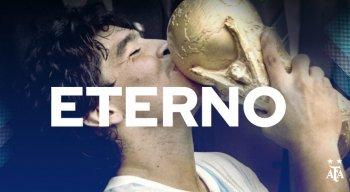 Diego Maradona é o principal ídolo da história do futebol argentino