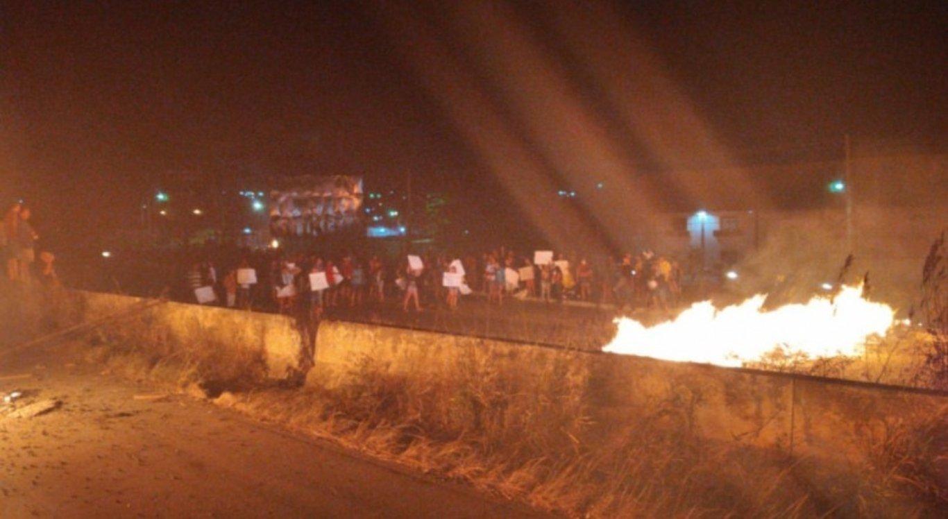 Protesto na BR-232