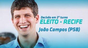 João Campos venceu com 56% dos votos