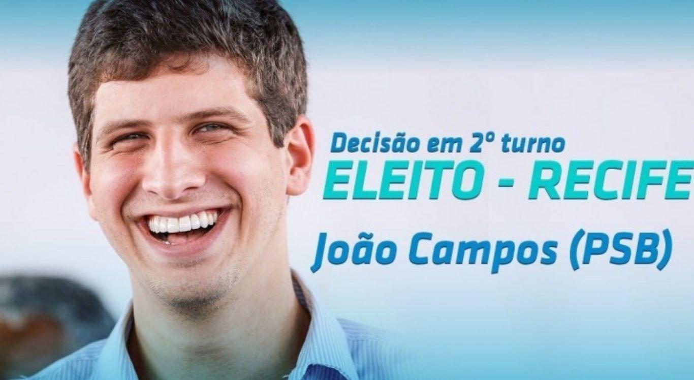 O deputado federalderrotou nas urnas a sua prima, e igualmente deputada federal, Marília Arraes (PT), que conquistou 347.029 votos (43,76%)