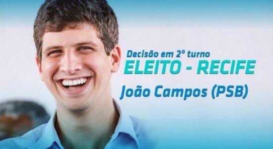 João Campos (PSB) é eleito e se torna o prefeito mais jovem do Recife
