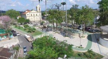 Cidade de São Lourenço da Mata, na Região Metropolitana do Recife