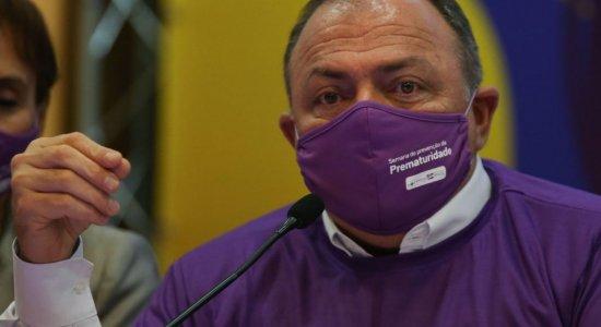Após aprovação de vacinas contra covid-19, ministro da Saúde fala sobre vacinação no Brasil