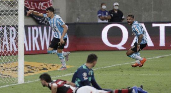 Flamengo perde nos pênaltis para o Racing e se despede da Libertadores