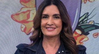 Apresentadora da TV Globo, Fátima Bernardes