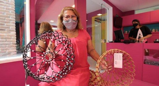 Espaço Aria inaugura loja de produtos feitos por artesãos em Jaboatão