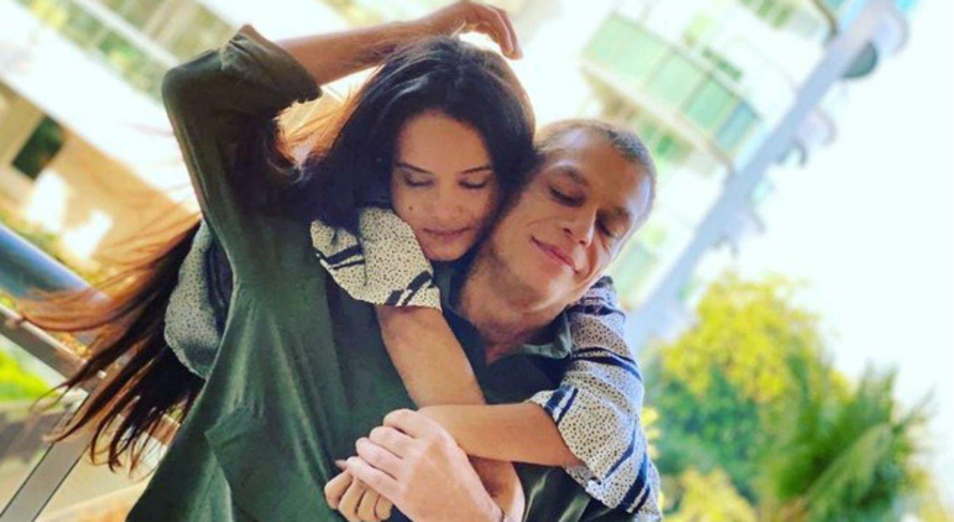Fábio Assunção e a esposa, Ana Verena