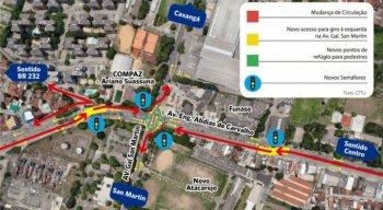 Confira como vai ficar o trânsito na Avenida Abdias de Carvalho na próxima segunda (7)