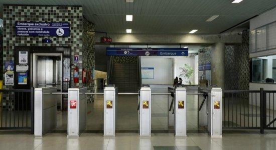 Linha Sul do Metrô do Recife volta a parar nesta sexta-feira (4)