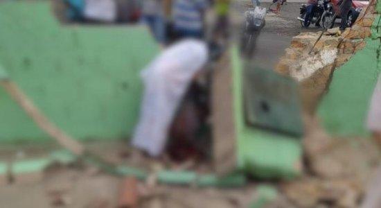Homem morre ao colidir com muro de lava jato em Lagoa do Ouro