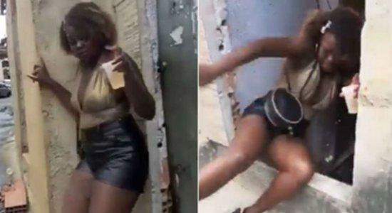 'Deise do Tombo': veja vídeo que viralizou e tornou meme em celebridade