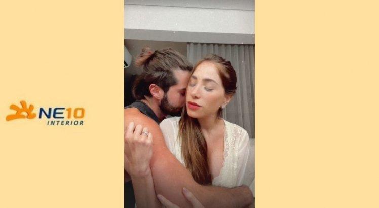 Romana Novais contou como tudo aconteceu em uma série de vídeos no Instagram