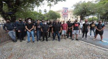 Protesto de produtores de eventos.