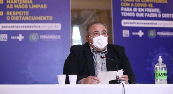 AO VIVO: acompanhe a coletiva do Governo de Pernambuco sobre a covid-19 nesta quarta (31)