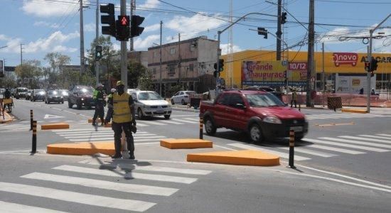Mudança na Av. Abdias de Carvalho e abertura de supermercado deixam trânsito caótico