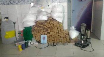 Polícia apreendeu 469 kg de drogas