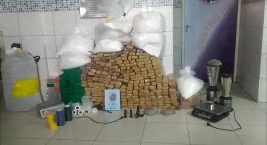 Maior apreensão de drogas do ano é registrada em Caruaru
